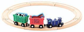 MandD Farm Animal Train Set
