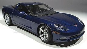 Maisto 2005 Corvette C6 Coupe (Metallic Blue) Diecast Model Car 1/18 Scale #31117blu