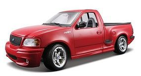 Maisto Ford SVT F150 Lightning Pickup Truck (Red) Diecast Model Truck 1/18 Scale #31141red