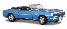 Maisto 1968 Camaro SS396 Convertible (Met. Blue) Diecast Model Car 1/24 scale #31257blu
