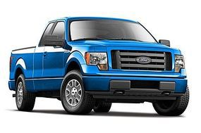 Maisto 2010 Ford F150 Pickup Truck (Metallic Blue) Diecast Model Truck 1/24 Scale #31270blu