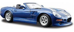 Maisto 1999 Shelby Series 1 Convertible (Met. Blue w/White Stripe) Diecast Model Car 1/24 #31277bl