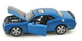 Maisto 2008 Dodge Challenger SRT 8 (Met. Blue) Diecast Model Car 1/24 scale #31280blu