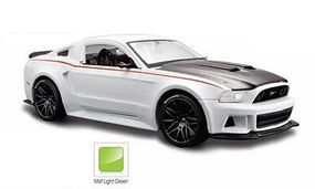 Maisto 2014 Ford Mustang Street Racer (Met. Green) Diecast Model Car 1/24 scale #31506grn