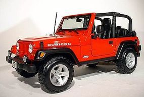Maisto Jeep Wrangler Rubicon (Red) Diecast Model SUV 1/18 Scale #31663red