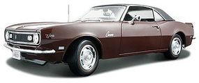 Maisto 1968 Camaro Z28 Coupe (Maroon) Diecast Model Car 1/18 Scale #31685mar