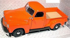 Maisto 1950 Chevrolet 3100 Pickup Truck (Orange) Diecast Model Truck 1/24 scale #31952org