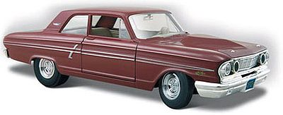 Maisto International 1964 Ford Fairlane Thunderbolt (Maroon) -- Diecast Model Car -- 1/24 Scale -- #31957mar