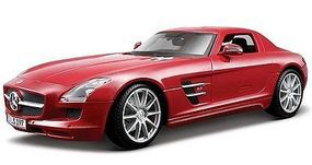 Maisto Mercedes Benz SLS AMG (Red) Diecast Model Car 1/18 scale #36196red