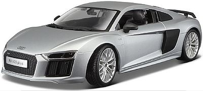 Maisto International 1/18 Audi R8 V10 Plus (Silver)