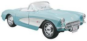Maisto AL 157 Chevrolet Corvette Red/White Metal Metal Body Plastic Model Car Kit 1/24 Scale #3927