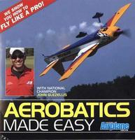 Model-Airplane-News Aerobatics Made Easy DVD Video Tape Remote Control #dvd20