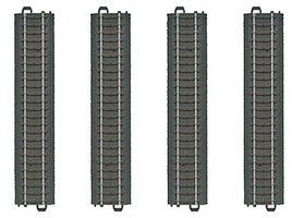 Marklin 3-Rail C Track Straight Sections pkg(4) HO Scale Nickel Silver Model Train Track #20188