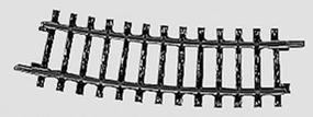 Marklin (bulk of 10) K Track 14-3/16 360mm 15 Degree Radius Curve HO Scale Nickel Silver Model Train Track #2223