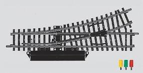 Marklin K Track Remote Turnout Left Hand - pkg(2) HO Scale Nickel Silver Model Train Track #2262