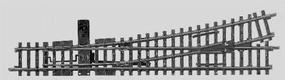 Marklin 8 7/8 Left Hand Turnout K Track HO Scale Nickel Silver Model Train Track #22715
