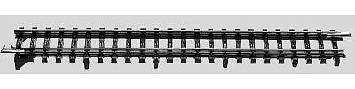 Marklin, Inc K-Track to M-Track Adapter (2) 7/1/8 Straight -- HO Scale Nickel Silver Model Train Track -- #2291