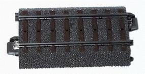Marklin (bulk of 10) (bulk of 10) 3-Rail C Track Straight 2-9/16 HO Scale Nickel Silver Model Train Track #24064