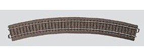 Marklin (bulk of 6) C Track - Curved 22-13/16 HO Scale Nickel Silver Model Train Track #24430