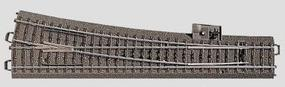 Marklin C Track - Right Wide Radius Turnout 9-5/16 HO Scale Nickel Silver Model Train Track #24712