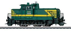 Marklin Class 8000 Switcher Belgian State Railways HO Scale Model Train Diesel Locomotive #37695