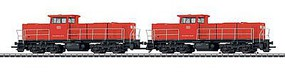 Marklin Class 6400 2-Unit Set DB Schenker Rail Nederland HO Scale Model Train Diesel Locomotive #37697