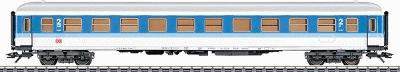 Marklin, Inc Era V InterRegio 2nd Class - DB AG German RR -- HO Scale Model Train Passenger Car -- #43501