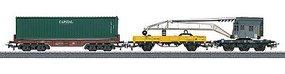 Marklin Container Loading Car Set