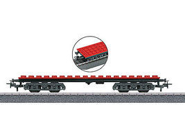 Marklin Clip-On Block Car HO Scale Model Train Freight Car #44734