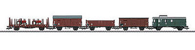 Marklin Era III 5-Freight Car Set German Federal Railroad DB HO Scale Model Train Freight Car #46089