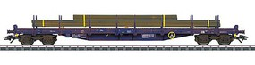 Marklin Type Rnss, Res, Rns 3-Flatcar Set - 3-Rail Ready to Run CFL Cargo (Era VI 2013, 1 Each gray, black, Boxcar Red)