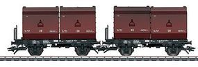 Marklin Container Flatcar w/24 Cubic Meter Container Load HO Scale Model Train Freight Car #48274