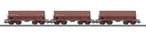 Marklin Type Fals Hopper 3-Pack - 3-Rail Ready to Run Belgian State Railways SNCB (Era VI, Boxcar Red)