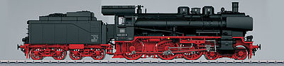 Marklin, Inc Class 38.10-40 4-6-0 German Federal Railroad -- G Scale Model Train Steam Locomotive -- #55384