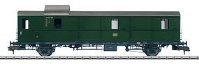 Marklin Type Pwi Thunder Box Baggage German Federal Railroad HO Scale Model Train Passenger Car #58194