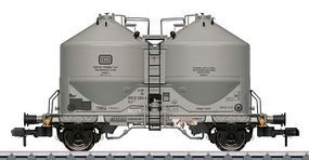 Marklin Type Ucs 909 Silo/Covered Hopper German Federal RR HO Scale Model Train Freight Car #58613