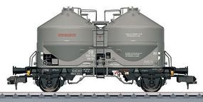 Marklin Type Kds 54 Covered Hopper/Silo German Federal RR HO Scale Model Train Freight Car #58624