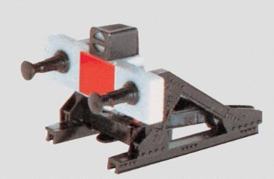 Marklin, Inc Track Bumper w/LED -- HO Scale Model Train Track Accessory -- #7389