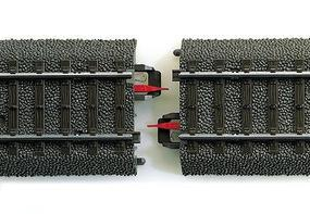 Marklin (bulk of 5) Marklin Rail Joint Insulator HO Scale Nickel Silver Model Train Track Accessory #74030
