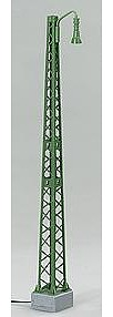 Marklin, Inc Catenary - Tower Mast with Light -- HO Scale Model Railroad Trackside Accessory -- #74141