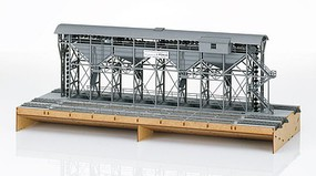 Marklin Huntsche Large Coaling Station Laser-Cut Card Kit