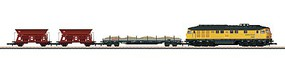 Marklin Construction Train-Only Set DB Track Construction Class 233 Diesel, 3 Cars (Era VI) - Z-Scale