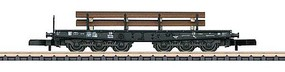 Marklin DB HD Flt Car w/Load - Z-Scale
