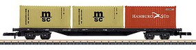 Marklin DB Container Transpt Car - Z-Scale