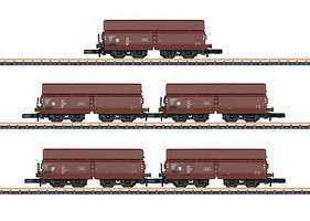 Z Scale Model Train Freight Cars