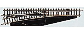 Marklin Turnout - Straight Left Manual 4-3/8 11cm Z Scale Nickel Silver Model Train Track #8565