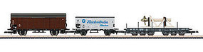 Marklin DB Freight 3-Car Set Ships Eq Z Scale Model Train Freight Car #86582