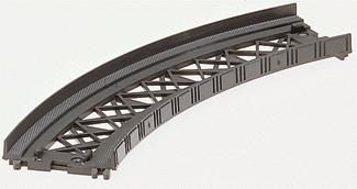 Marklin, Inc Bridges - Ramp Curved 5-3/4'' Radius 45 Degree (2) -- Z Scale Model Railroad Brid -- #8977