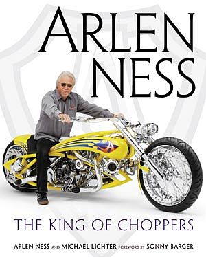Motorbooks International Arlen Ness- The King of Choppers (D) -- Model Instruction Manual -- #22198