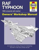 Motorbooks RAF Typhoon 1994 Onwards Owners Workshop Manual (Hardback) Model Instruction Manual #758
